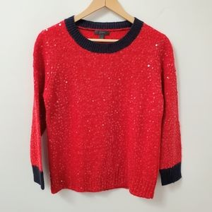 J.Crew sequined sweater